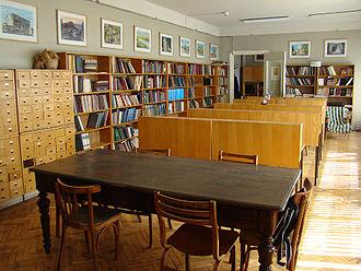 Georgian National Center of Manuscripts - Reading Hall of the National Centre of Manuscripts