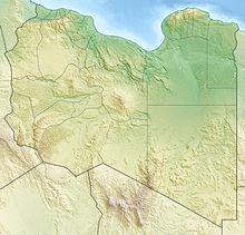 Batalha de Bir Hakeim está localizada na Líbia