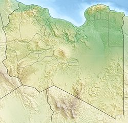 Location map Libya is located in Libya