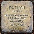 Liebenburg Stolperstein Bloch, Ida.jpg