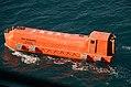 Lifeboat from USNS Sacagawea (T-AKE-2) underway off Noumea on 30 June 2017.JPG