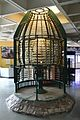 Lighthouse Lantern Room with Fresnel Lens - Information Revolution Gallery - National Science Centre - New Delhi 2014-05-06 0755.JPG