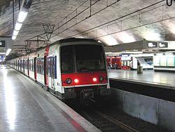 民族站 (法兰西岛大区快铁)