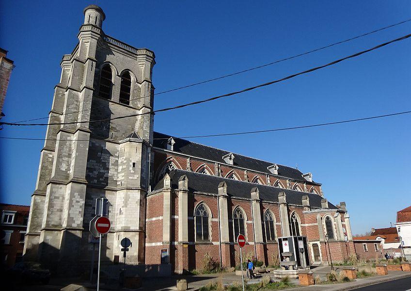 Station Bourg de la ligne 2 du métro de Lille Métropole.