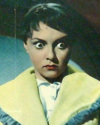 Liliane Montevecchi - Montevecchi in the 1957 film The Living Idol