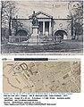 Lille – Monument du général Négrier et École d'Équitation ( manège) –Situation sur le plan de 1871.jpg
