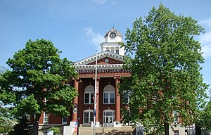 Lincoln County, Kentucky - Image: Lincoln County Courthouse (Stanford, Kentucky)
