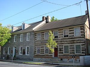 Lititz, Pennsylvania - Houses on Main Street