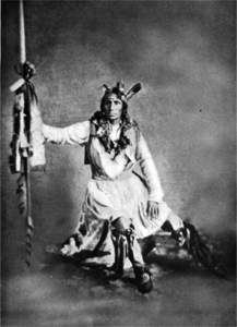 Little Crow, Leader of the Sioux in the Minnesota Massacre, 1863