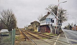 Littleworth railway station Former railway station in Lincolnshire, England