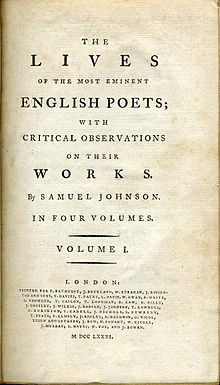 Lives of the English Poets From Johnson to Kirke White, Designed as a Continuation of Johnsons Lives