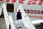 Llegada de Narendra Modi, primer ministro de India (45378999484).jpg