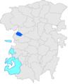 Localització de Catllarí respecte Montmajor i respecte del Berguedà.PNG