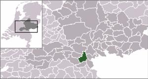 Lent, Gelderland - Image: Locatie Nijmegen