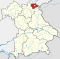 Locator map HO in Bavaria.svg