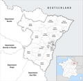 Locator map of Kanton Strasbourg-1 2019.png