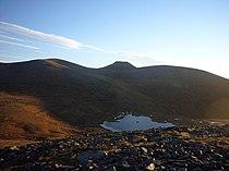 Loch nan Stuirteag and Cairn Toul from N ridge of Monadh Mor - geograph.org.uk - 587392.jpg