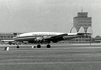 1948 KLM Constellation air disaster - A Lockheed L-049 Constellation similar to the aircraft involved in the accident.