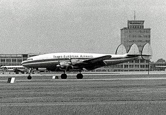 Lockheed L-049 Constellation - An L-049 of Trans European Airways.