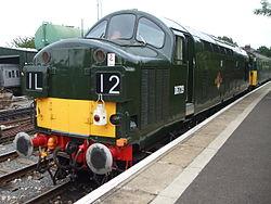 Loco D6729 at North Weald2 2012.JPG