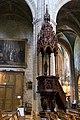 Lodève-Église saint Fulcran-Chaire à prêcher-20140627.jpg