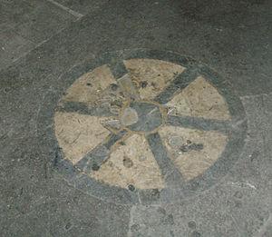 Loggia del Mercato Nuovo - Image: Loggia del Porcellino, la pietra dello scandalo