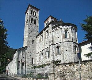 Basilica of Sant'Abbondio - Apse area.