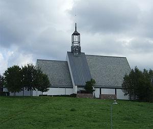 Lommedalen - Image: Lommedalen kirke