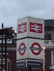 London Victoria Station - sign (8103893959).jpg