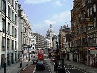 Fleet Street - Fleet Street in 2008