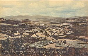 Littleton, New Hampshire - Image: Looking North toward Littleton from Bethlehem, NH