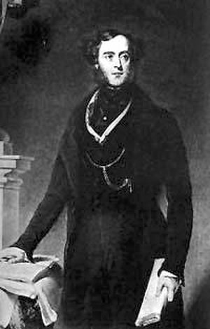 "Surplice (horse) - Lord George Bentinck: his sale of Surplice cost him the ""Blue Ribbon""."