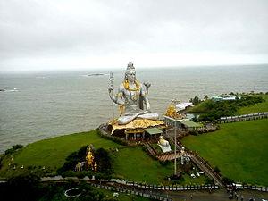 Murdeshwar - Lord Shiva statue at Murdeshwar