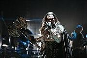 Lordi, ganadores del Festival de la Canción de Eurovisión de 2006.