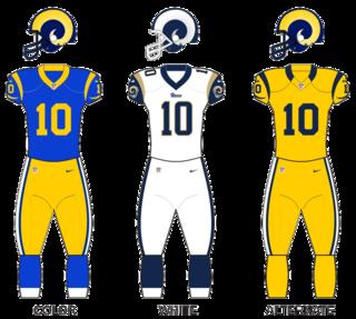 2018 Los Angeles Rams season 82nd season in franchise history, 4th Super Bowl loss