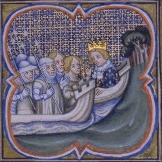 Florent de Varennes - Louis IX of France towards the Eighth Crusade