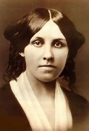 Louisa May Alcott - Alcott at about age 25
