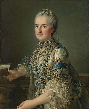 Louise of France (1737–1787) - Madame Louise by François-Hubert Drouais, ca. 1763.