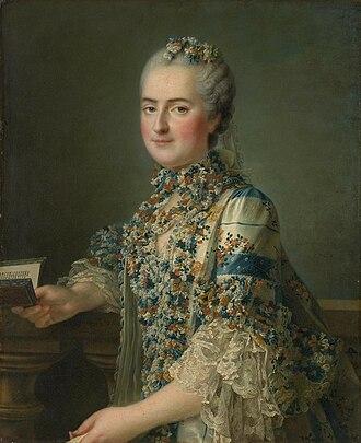 Louise of France (1737–1787) - Madame Louise by François-Hubert Drouais, ca. 1763.