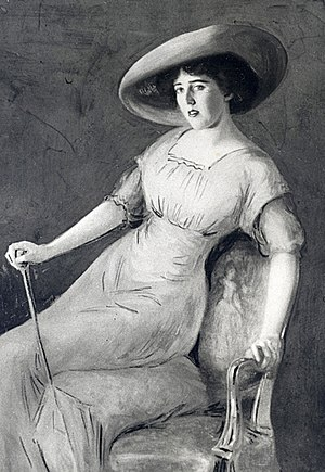 Louise Bryant - Portrait of Bryant in 1913 by John Henry Trullinger