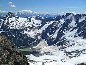 North Cascades - The North Cascades are considered the most rugged mountain range in the contiguous United States.