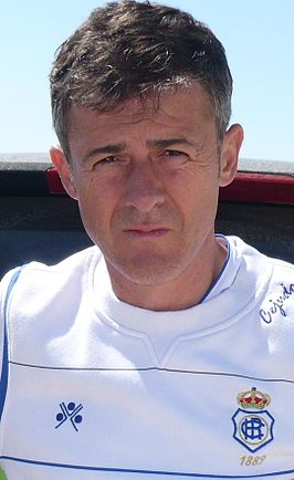 Alcaraz in 2009 als coach van Recreativo