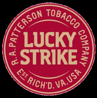 Lucky Strike Cigarette brand