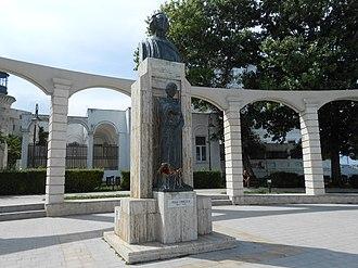 Mihai Eminescu - Lui Mihai Eminescu, 1932 Oscar Han sculpture, Constanța
