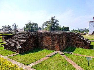 Nepal - Lumbini, listed as the birthplace of Gautama Buddha by the UNESCO World Heritage Convention