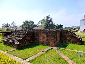 Lumbini - Excavated Buildings, Lumbini (9241388221)