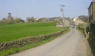 Lydgate, Greater Manchester - Image: Lydgate, Saddleworth geograph.org.uk 5538