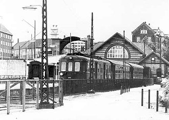 Lygten Station - The station in the early 1960s