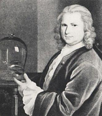 Mårten Triewald - Mårten Triewald in 1740