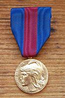 Décorations Françaises 130px-M%C3%A9daille_des_ervices_militaires_volontaires_bronze